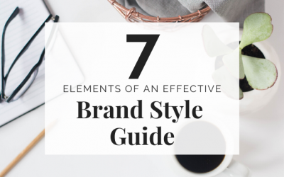 The 7 Elements of an Effective Brand Style Guide
