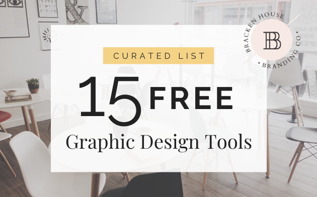 Curated List of 15 Free Graphic Design Tools!