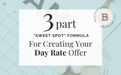 "The 3-part ""sweet spot"" formula for creating your Day Rate offer!"